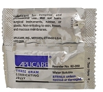Aplicare Sterile Lubricating Jelly 3 Gram Packets